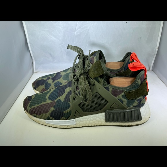 Adidas NMD XR1 Olive Cargo Duck Camo Green Men's 8